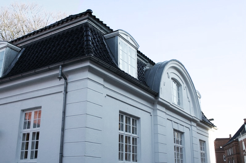 En flot gammel villa
